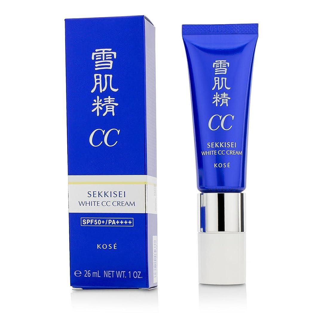 適用する儀式オンスコーセー 雪肌精 ホワイト CCクリーム【#01】 #LIGHT OCHRE SPF50+/PA++++ 30g