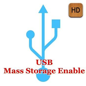 usb mass storage enable