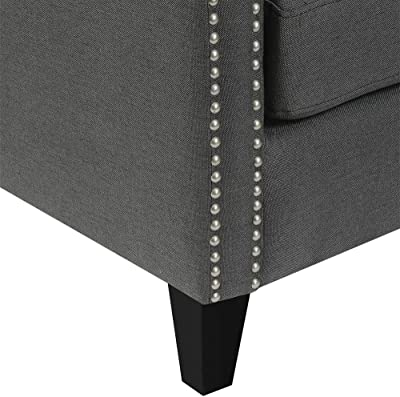 Amazon.com: IDS Modern Side Chair for Living Room Bedroom ...