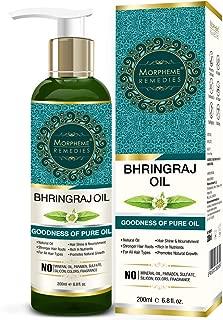 Morpheme Pure Bhringraj Hair Oil (ColdPressed & Undiluted) 200ml
