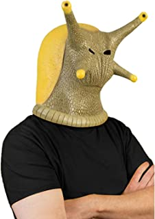 Novelty Halloween Costume Party Latex Head Mask Snail Full Face Mask