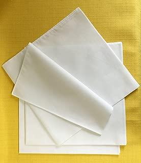 お絵かきハンカチ53cm5枚組 キャンブリック 綿100% 染色 刺繍 白無地 お弁当包み 防災グッズ 小風呂敷 バレンタイン 寄せ書き 卒業