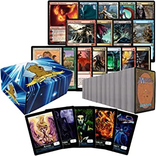 1000 Assorted Magic: The Gathering Cards Planeswalker Collection Includes Custom Golden Groundhog Storage Box