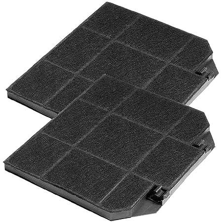 Franke & Faber Lot de 2 filtres charbon pour hotte aspirante 112.0016.756, 112.0157.243, 112.0185.276