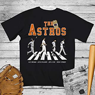 Astros Crosswalk Road Shirt Bregman-Verlander-Altuve-Springer Customized Handmade Hoodie/Sweater/Long Sleeve/Tank Top/Premium T-shirt