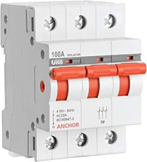 Anchor by Panasonic 98059 Uno Series 40 Ampere TP Isolator, White