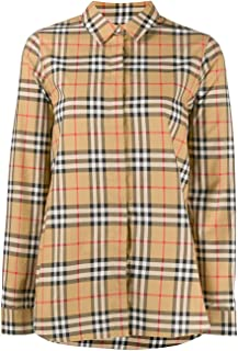 BURBERRY Luxury Fashion Womens 8014010 Beige Shirt |