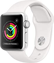 Apple Watch Series 3 (GPS, 38mm) - Silver Aluminum Case...
