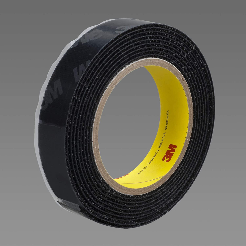 3M Fastener Detroit Mall SJ3530 Hook S030 Black 1-1 in online shop 0.15 x 50 Eng yd 4
