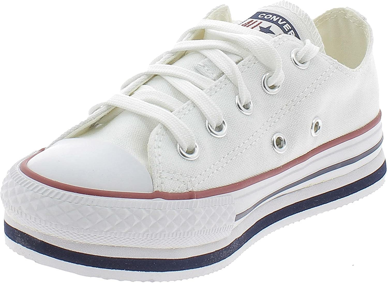 Converse Chuck Taylor All Star Platform Eva Everyday Ease Trainers Girls White