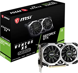 MSI GeForce GTX 1650 VENTUS XS 4G グラフィックスボード VD7312