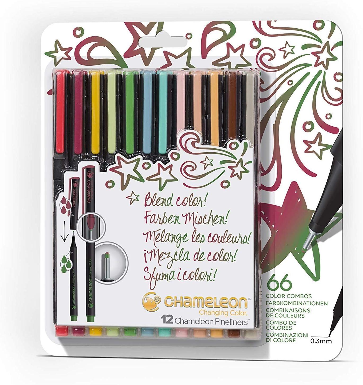 Japan's largest assortment Chameleon Fineliner Pens Coloring Drawing Designer Markers C outlet -