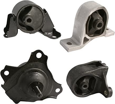 4pc Motor Mounts Set Kit Compatible with 01-05 Honda Civic - 1.7L Cylinder
