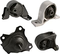 4pc Motor Mounts Set Kit Compatible with 01-05 Honda Civic - 1.7L Cylinder Automatic Transmission - Engine Mounts