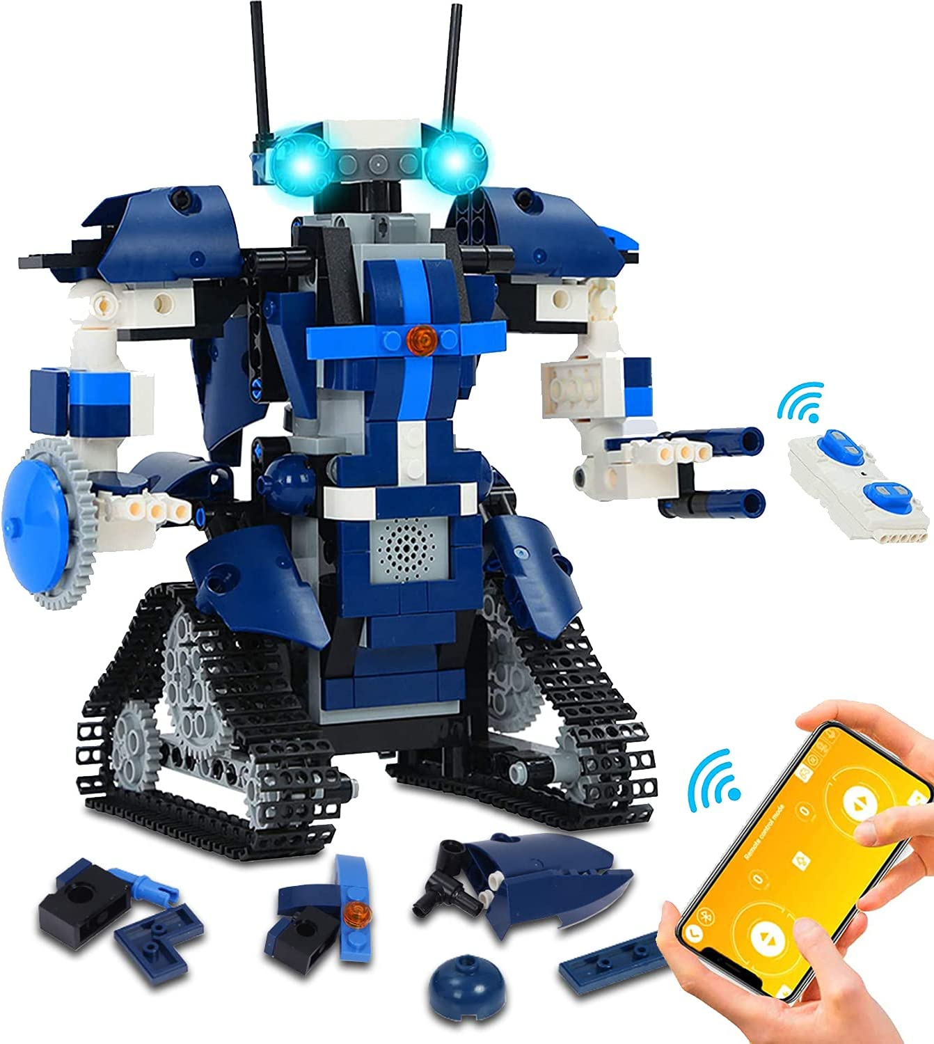 OKREVIEW Robot Building Kit for - STEM Kids RemoteAPP Controlle Chicago Super sale period limited Mall