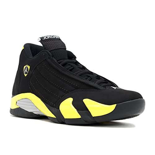 3e52e17ec58b Jordan Air 14 Men s Shoes Black Vibrant Yellow-White 487471-070