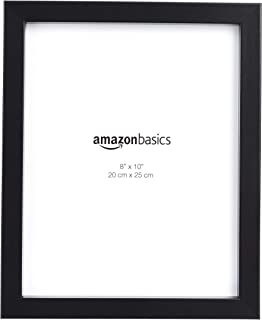 """AmazonBasics 1010890-040-A60 Photo Picture Frame - 8"""" x 10"""", 5-Pack, Black, W 11.18 x H 0.78 x D 9.18 inch"""