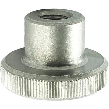 M3 R/ändelmuttern hohe Form Eisenwaren2000 - R/ändel-Mutter DIN 466 Edelstahl A1 1.4305 5 St/ück rostfrei