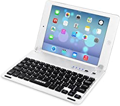 Arteck Ultra-Thin Apple iPad Mini Bluetooth Keyboard Folio Case Cover with Built-in Stand Groove for Apple iPad Mini 3/2 /...