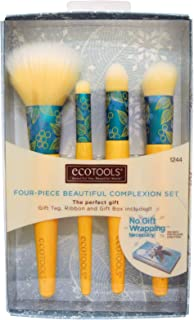 EcoTools, Four-Piece Beautiful Complexion Set, 4 Brushes - 2pc