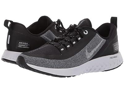 Nike Kids Legend React Shield (Big Kid) (Black/Metallic Silver/Cool Grey) Boys Shoes
