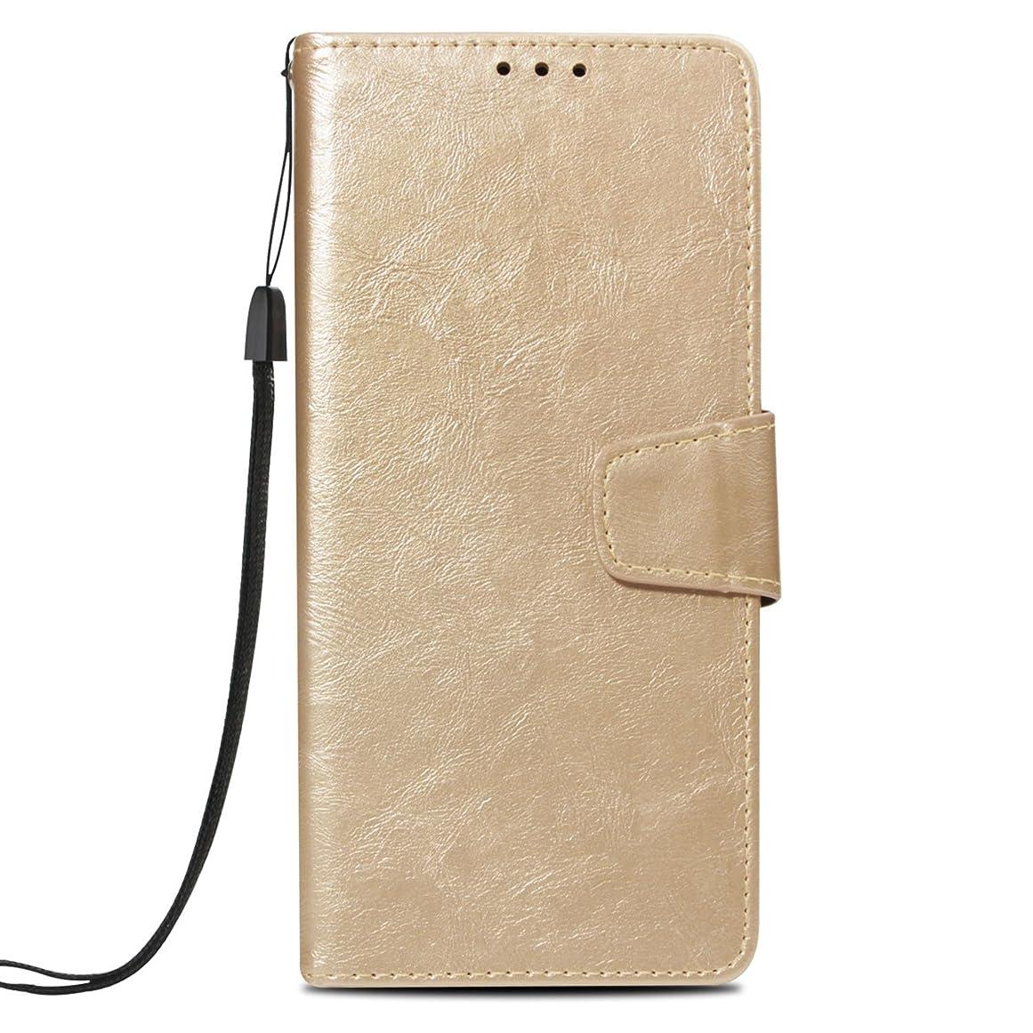 偽造乳白色道路iPhone XR レザーケース 高質 カバー 内蔵マグネット 手帳型ケース レトロスタイル カード収納 耐汚れ 耐衝撃 横置きスタンド 財布型 人気 おしゃれ 携帯カバー(金)