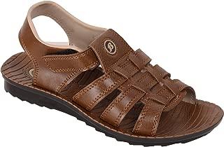 BATA Men Brown Formal Sandal Floaters