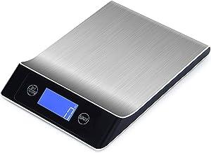 balança eletrônica de aço inoxidável balança de alimentos domésticos balança de cozinha de alta precisão balança eletrônic...