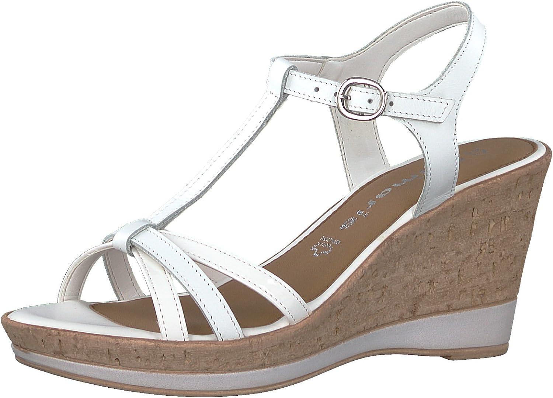 Tamaris 1-1-28347-20 Damen Sandale, Sandalette, Sommerschuhe für die modebewusste Frau  | Fairer Preis  | Verrückter Preis  | Perfekt In Verarbeitung