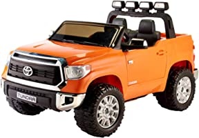 Toyota Tundra Electric Ride-On Car for Kids - Orange