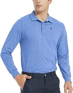 Men's Golf Polo Shirt Short/Long Sleeve Classic Polo Shirts Quick Dry Polo Sport Shirt