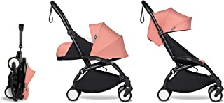 Babyzen YOYO2 Stroller & Newborn Set - Black Frame with Ginger Fabrics