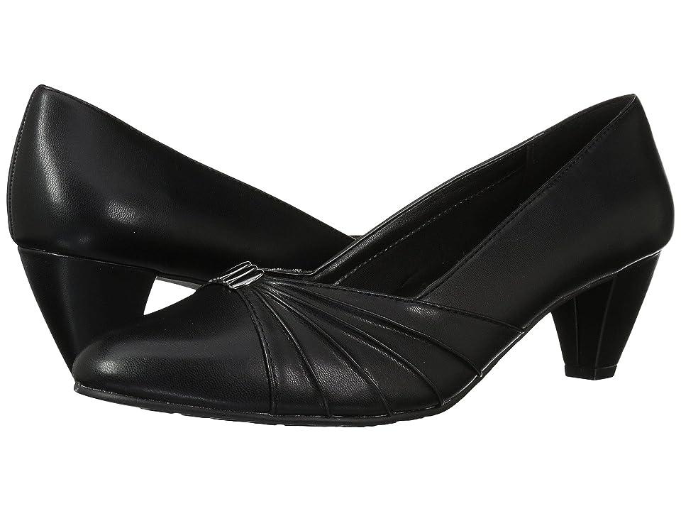 1950s Style Shoes | Heels, Flats, Saddle Shoes Soft Style Dee Black High Heels $54.95 AT vintagedancer.com