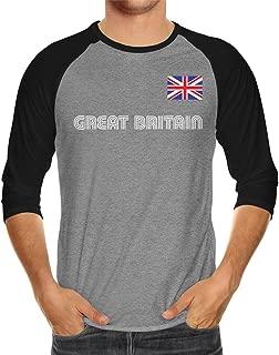 Great Britain Soccer Jersey Unisex 3/4 Raglan Shirt