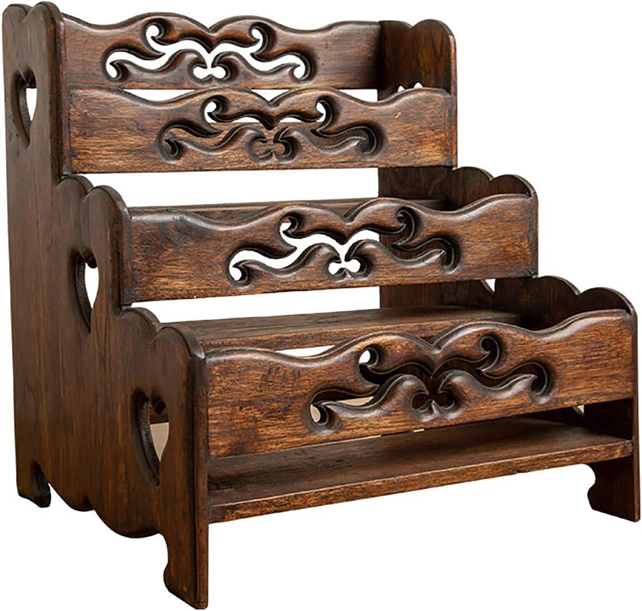 MEVIDA Retro Wood San Francisco Mall Spice Rack Shelf Wooden Organizer Overseas parallel import regular item Seasonin for