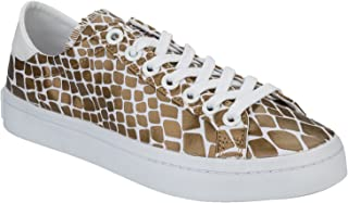 adidas Originals Womens Court Vantage Snake Skin Print Fashion Sneakers Trainers