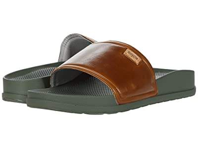 Freewaters Supreem Slide (Brown/Olive) Men