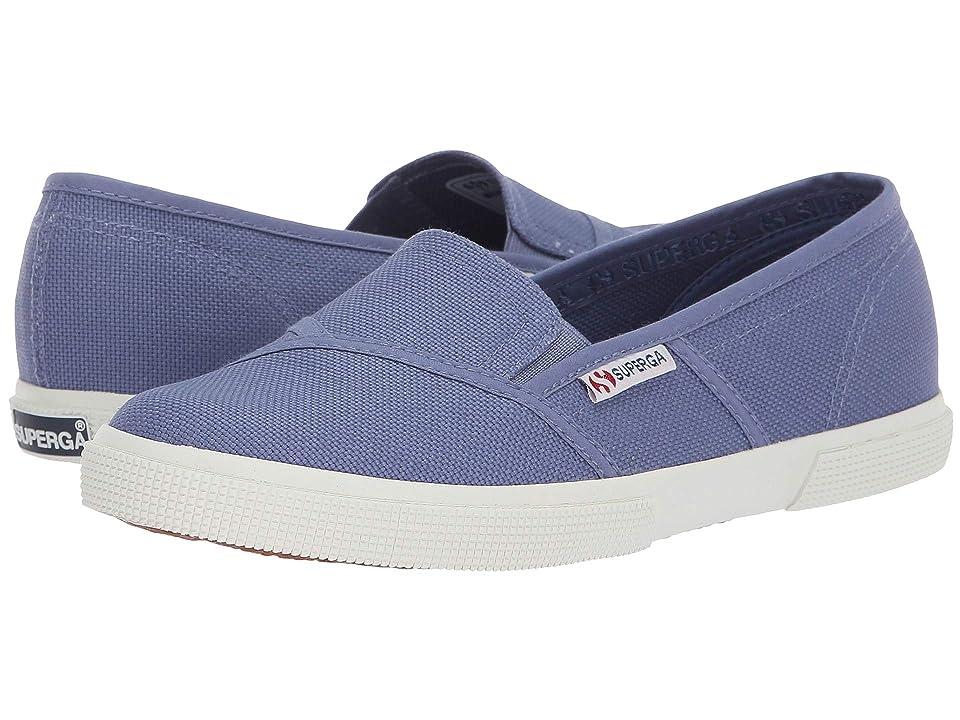 Superga 2210 COTW Slip-On Sneaker (Vintage Blue) Women