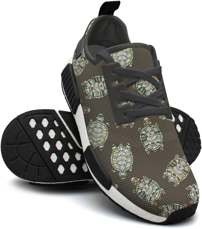 WESER Turtle Baby Black Tennis Gym Ladies Running shoes NMD