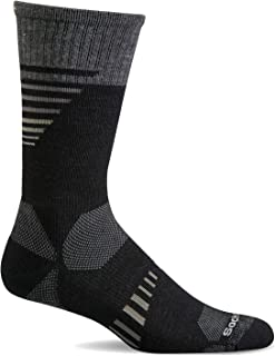 Sockwell Men's Ascend II Crew Moderate Compression Sock