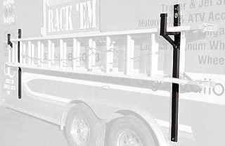 Pack'em Enclosed Trailer Exterior Side Wall Ladder Rack PK28WL-PKBM