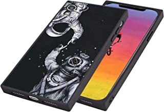 Case for iPhone Xr Square Phone, Astronaut Art Soft Flexible Shock Absorption Bumper Back Cover Case,new style