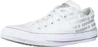حذاء رياضي نسائي منخفض الرقبة مطبوع عليه شعار Chuck Taylor All Star Madison من Converse