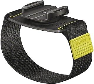 Sony AKA WM1 Handgelenkband (Halterung mit Armband, 360 Grad drehbar, geeignet für Action Cam FDR X3000, FDR X1000, HDR AS300, HDR AS200, HDR AS50) schwarz