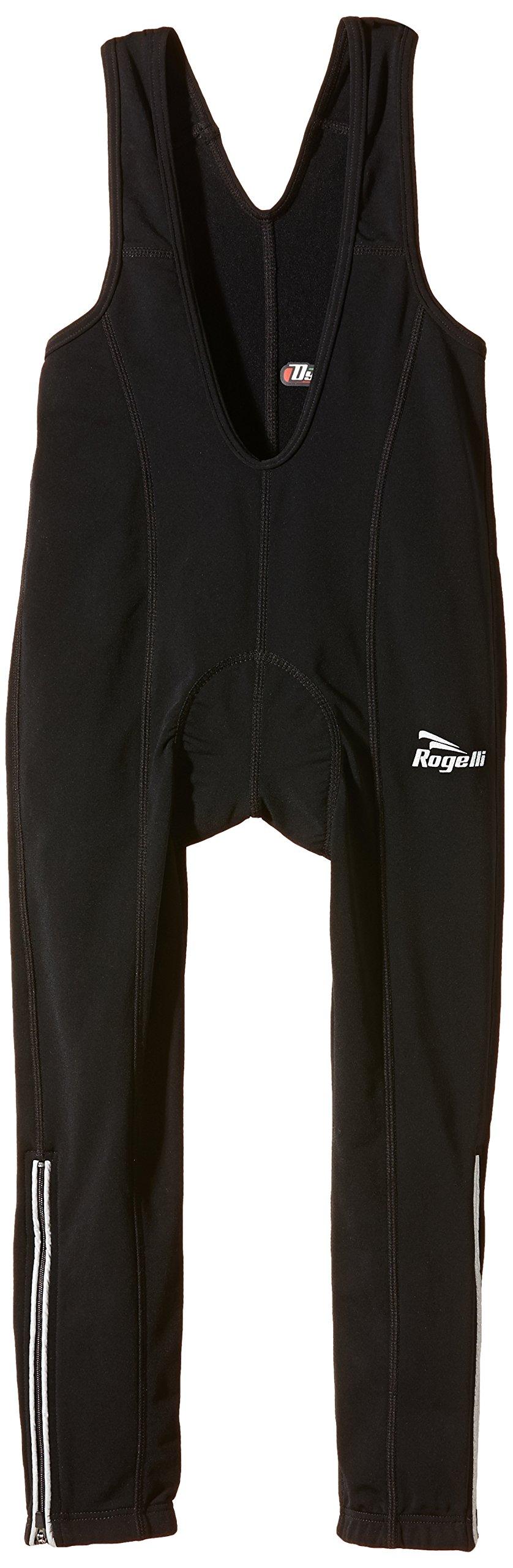 Rogelli Kinder Radlerhose lang Tavon, Black, 140/152