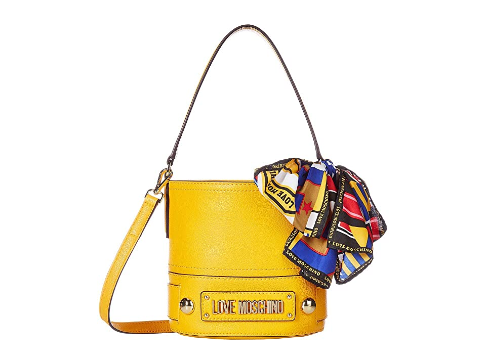 LOVE Moschino - LOVE Moschino Bucket Bag with Scarf
