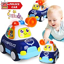 HOMOFY Baby Toys Electronic Police Car Toys with Lights & Music,Kids Early Learning Educational Toys for 1 2 3 4 5 Year Old Toddlers Boys and Girls Gifts