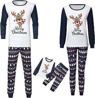 Matching Family Pjs Christmas Entire Family Jammies Cotton Pajamas Sets Best Kids Sleepwear Xmas A8