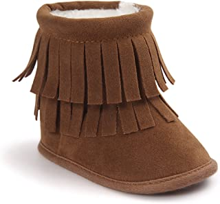 Best baby girl fringe boots Reviews