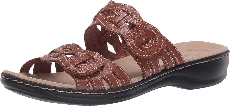 Clarks Women's Leisa Slide Sandal Long Max 69% OFF Beach Mall Charm